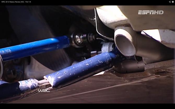 Roadside Repair – WRC Style
