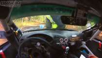 Camera Man Hit By Rally Driver!