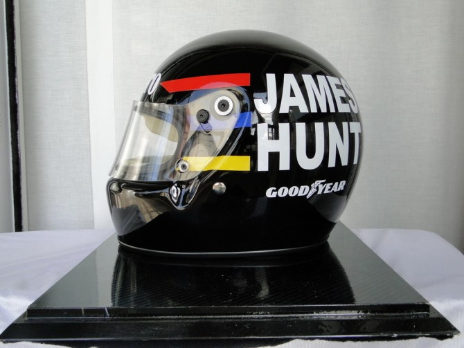 James Hunt Replica Helmet