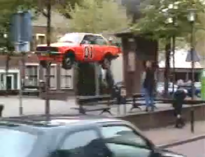 Flying BMWs