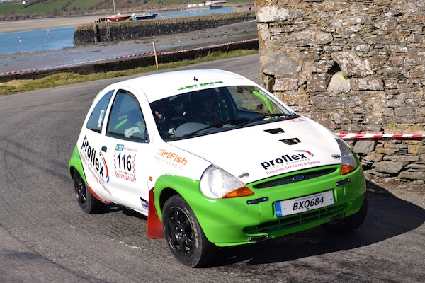 BRP's Brenten Kelly & Billy Irvin Conquer Ireland's West Cork Rally