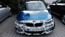 BMW M235ix testing at the Nürburgring