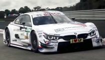 BMW readies their M4 DTM for the 2014 touring car season