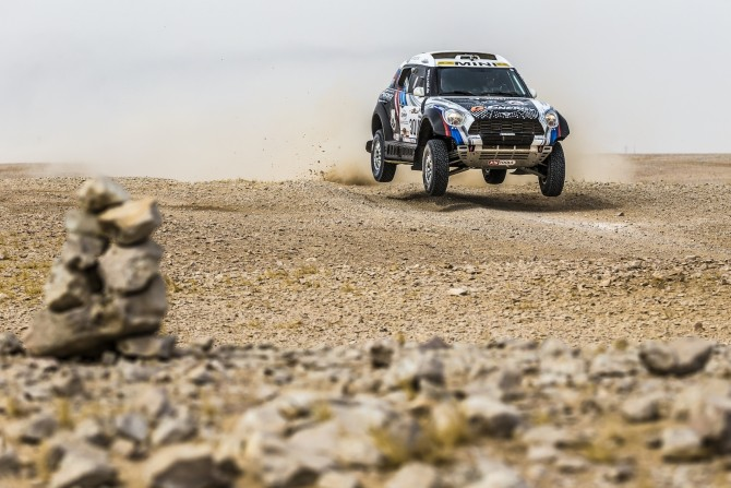 AL-ATTIYAH SECURES VICTORY FOR MINI AT THE SEALINE CROSS COUNTRY RALLY QATAR