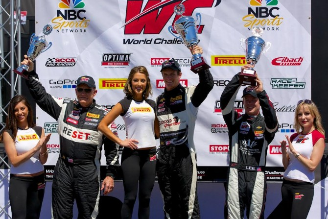 ASCHENBACH WINS, GAPLES 9TH AT PIRELLI WORLD CHALLENGE SEASON OPENER IN ST. PETERSBURG