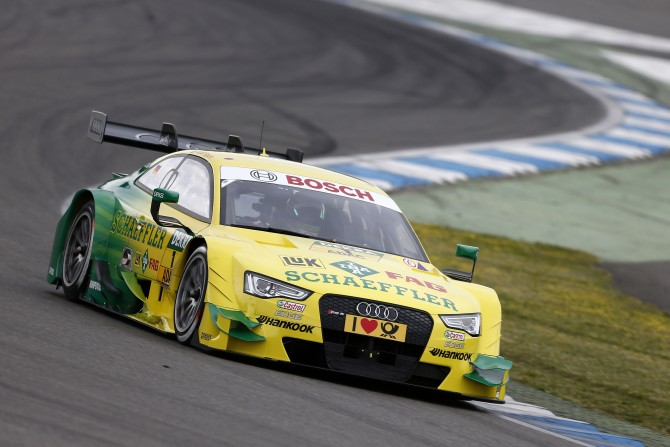 Audi Looks to Defend Title in Season Opener at Hockenheim