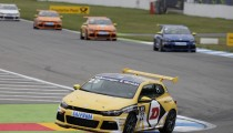 HOME RACE FOR VOLKSWAGEN IN THE SCIROCCO R-CUP