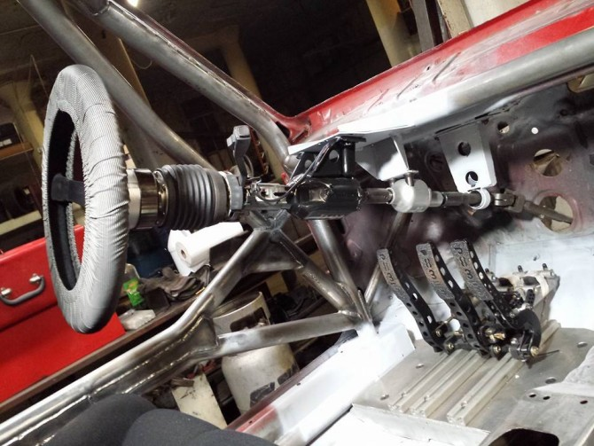 Volkswagen MKII GTI Rally Car Build Phase 5 – Driver Controls