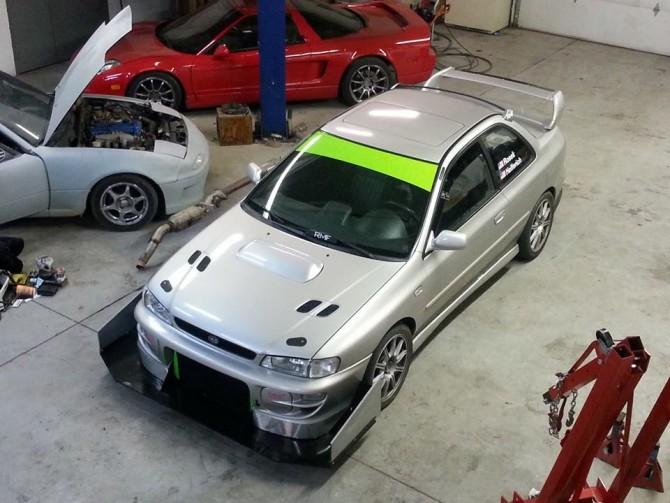 RMF Motorsports' One Lap of America Subaru RSTi