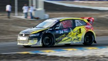 Tanner Foust Shows Speed In Barbados