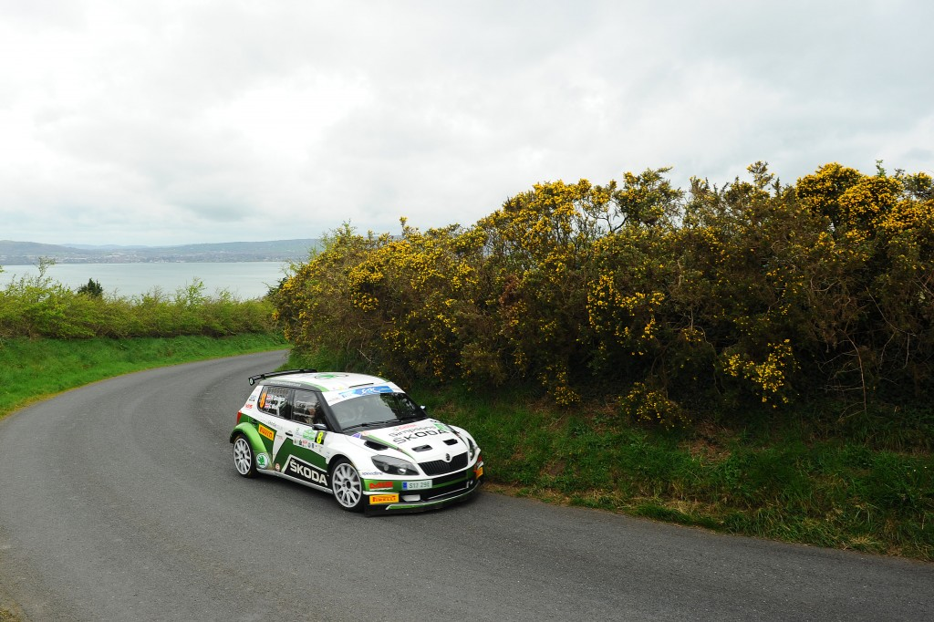 AUTO - ERC IRELAND RALLY 2014