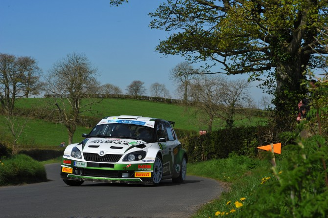 SIMPSON RETURNS TO JIM CLARK RALLY IN A ŠKODA FABIA S2000