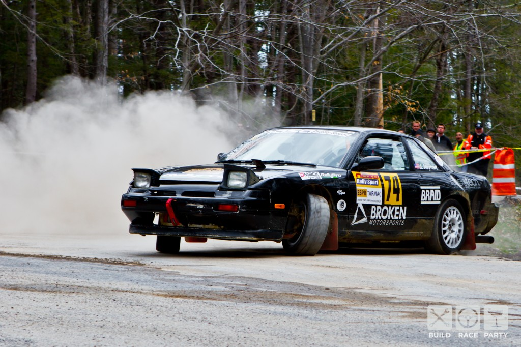 Bill Petrow drifting at ESPR 2014