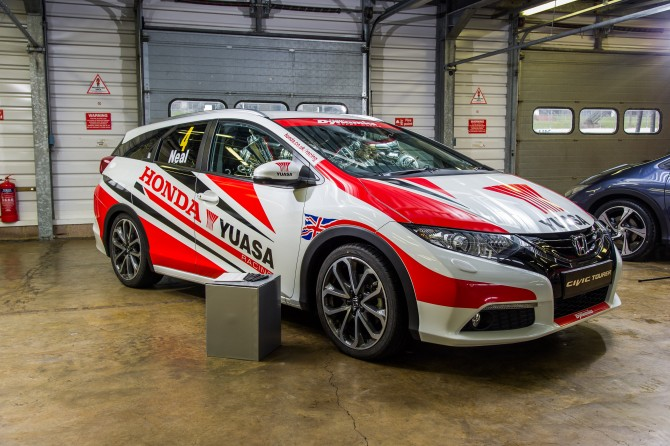 HONDA RACING'S BRITISH TOURING CAR CHAMPIONSHIP CIVIC TOURER