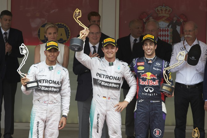 Mercedes AMG Pertonas secures another 1- 2 finish as Rosberg wins at Monaco