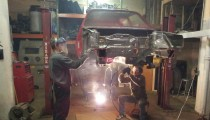 Volkswagen MKII GTI Rally Car Build Phase 1 – Shell Prep