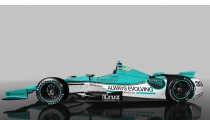 ALWAYS EVOLVING RACING ROLLS OUT SIGNATURE TEAL LIVERY FOR THE 2014 INDIANPOLIS 500