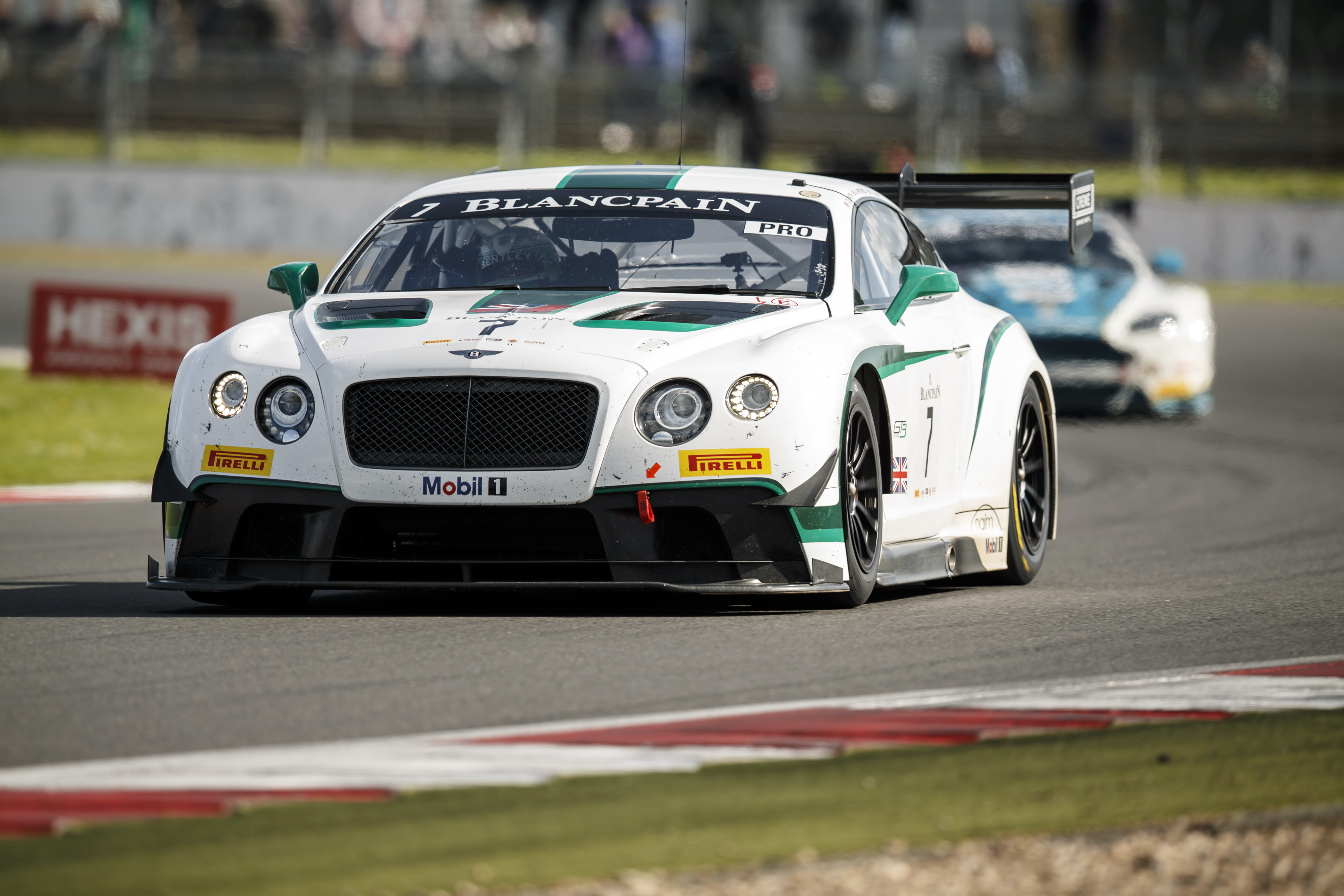 M-Sport Bentley Continental GT3 Storms to Victory at Silverstone ...