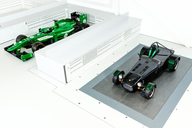CATERHAM CARS REVEALS KAMUI KOBAYASHI LIMITED EDITION SEVEN