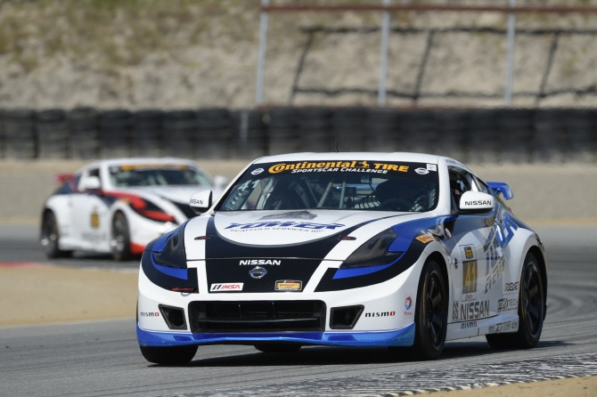 TIM BELL RACING, DORAN RACING GIVE NISSAN THREE TOP TENS AT LAGUNA SECA