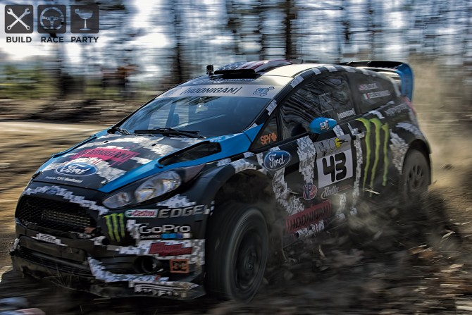 Ken Block Rallycross Damage Too Much for STPR Rally Entry