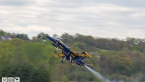 Build Race Party meets the US Navy's Blue Angels Squadron