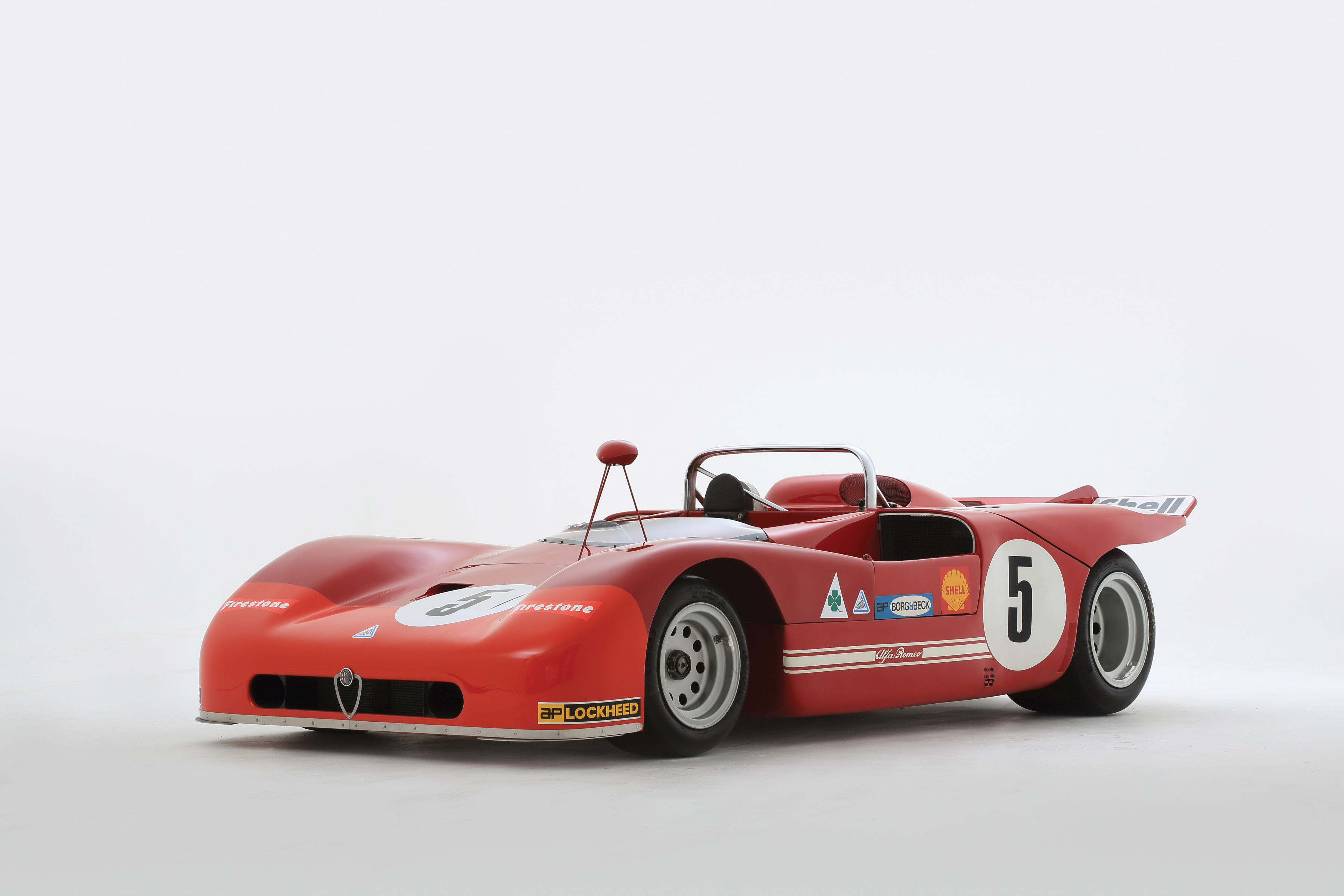 1970 Alfa Romeo Tipo 33 3 Build Race Party