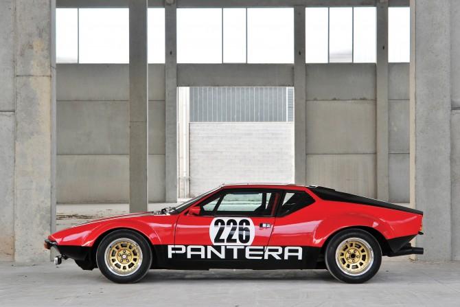 1973 De Tomaso Pantera Rally Car