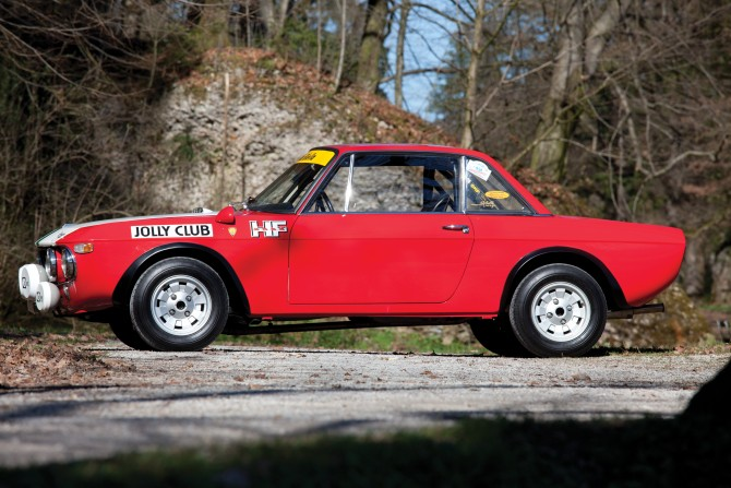 1969 Lancia Fulvia 1.6 HF Rallye 'Jolly Club'