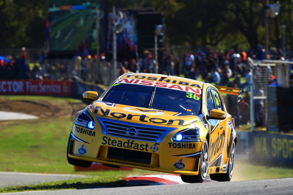 Michael Caruso at Barbagallo Raceway, Perth
