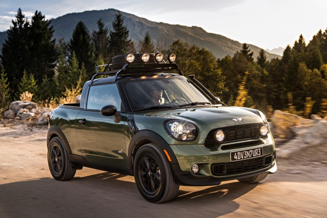 Creative visionaries: MINI Paceman Adventure.