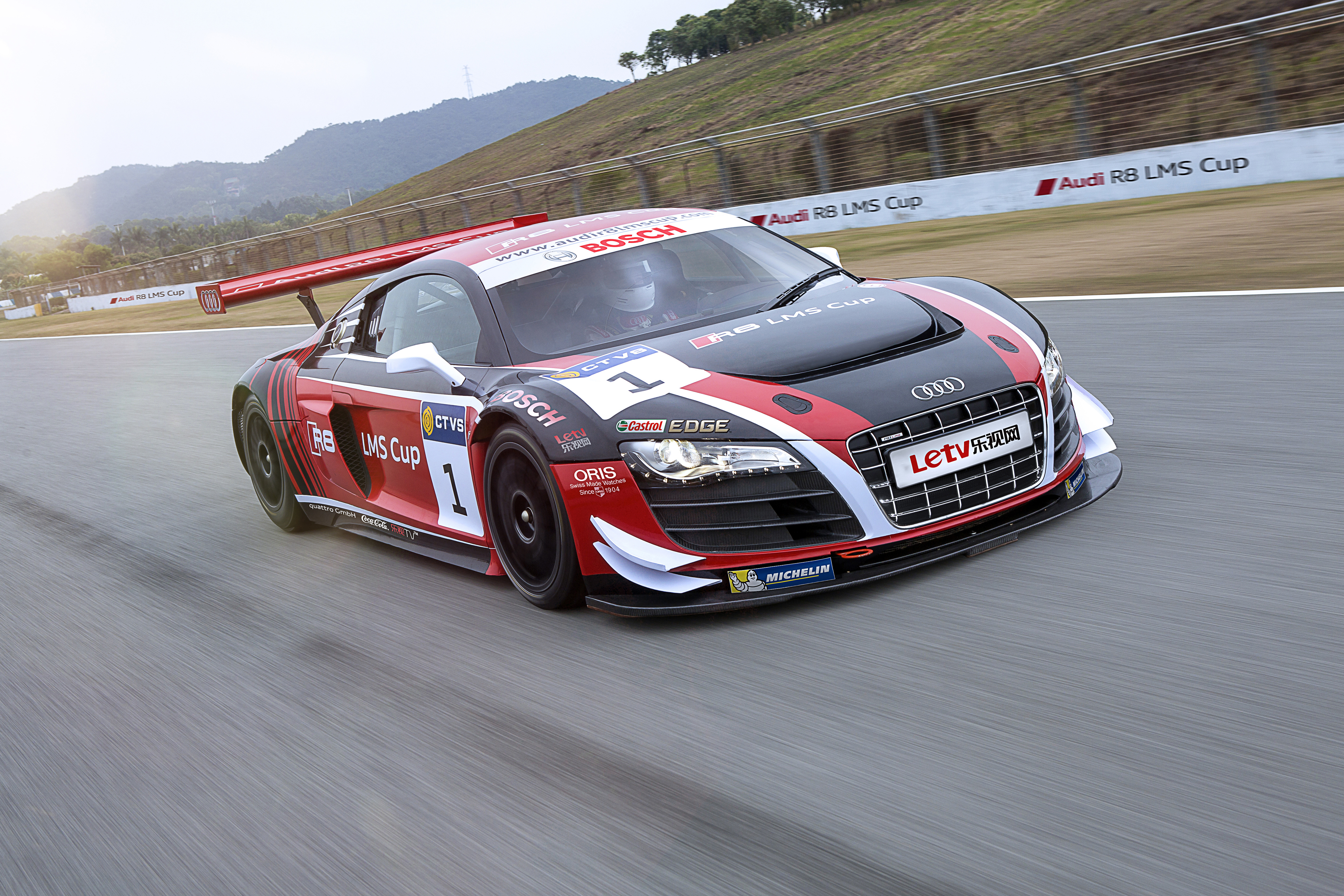 Audi R8 Lms Cup 6 on mkii gti