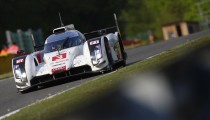 AUDI R18 E-TRON QUATTRO READY FOR OFFICIAL TEST DAY AT LE MANS