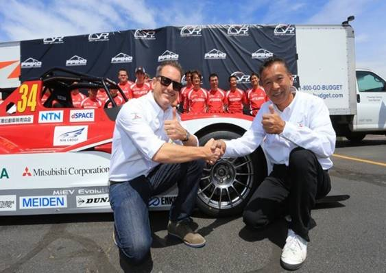 GREG TRACY & HIROSHI MASUOKA TO COMPETE FOR MITSUBISHI IN ELECTRIC MODIFIED DIVISION AT PIKES PEAK