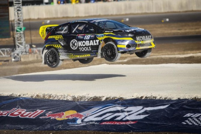 Strong start to 2014 Red Bull Global Rallycross season for Olsbergs MSE