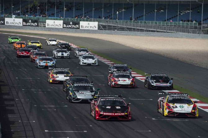 LAMBORGHINI BLANCPAIN SUPER TROFEO EUROPE HEADS TOWARDS SILVERSTONE SILVERSTONE