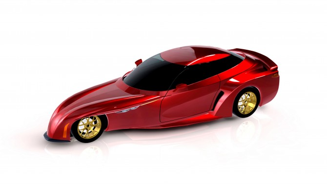 DELTAWING TECHNOLOGIES UNVEILS RENDERING OF FOUR-PASSENGER CAR