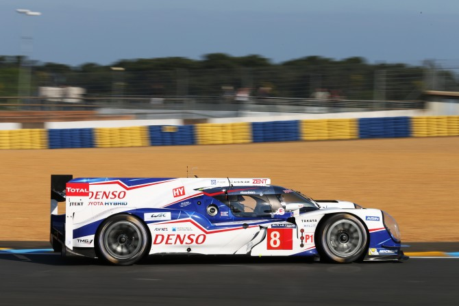 TOYOTA RACING POST FASTEST TIMES IN OFFICIAL LE MANS TESTING