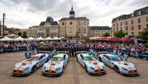 ASTON MARTIN RACING IS ALL SET FOR LE MANS CHALLENGE