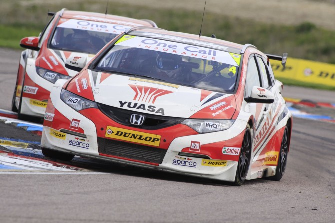 HONDA YUASA RACING RELISHING NEW CHALLENGE AT OULTON PARK