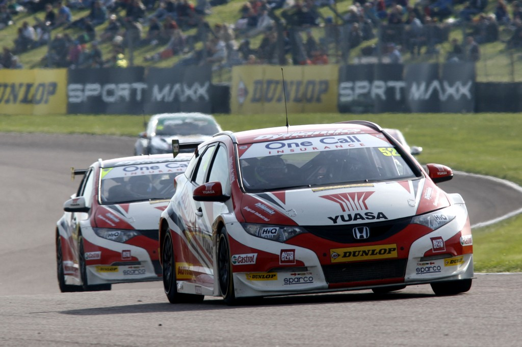 Gordon Shedden (GBR) Honda Yuasa Racing Team Honda Civic Tourer