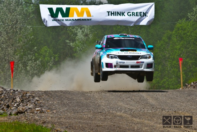 Out of the Fire – Nick Roberts at the Susquehannock Trail Performance Rally
