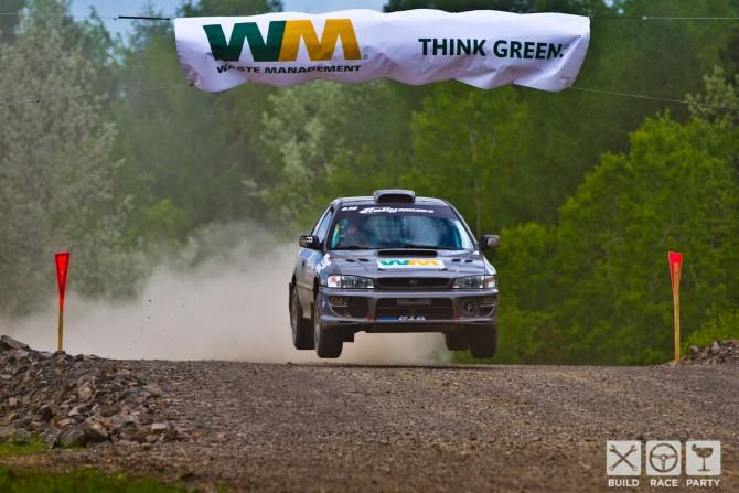 Rally Team Kaltak at Susquehannock Trail Performance Rally
