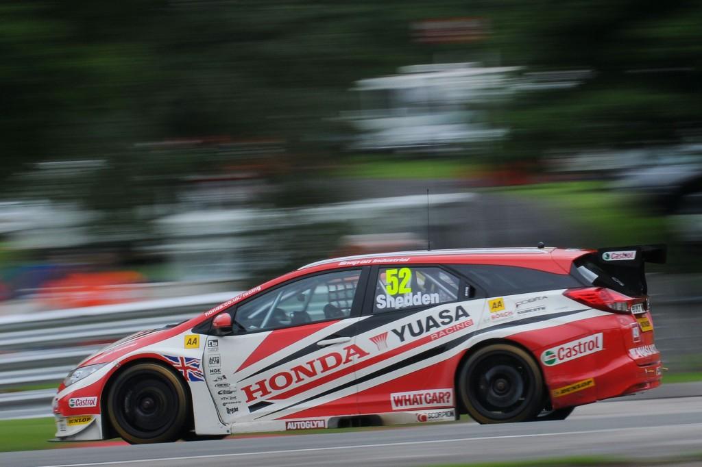 Gordon Shedden (GBR) Honda Yuasa Racing Team Honda Civic Tourer