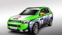OUTLANDER PHEV TO TACKLE ASIA CROSS COUNTRY RALLY 2014