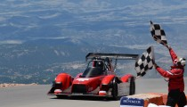 PIKES PEAK INTERNATIONAL HILL CLIMB 2014 MiEV EVOLUTION III WINS ELECTRIC MODIFIED DIVISION
