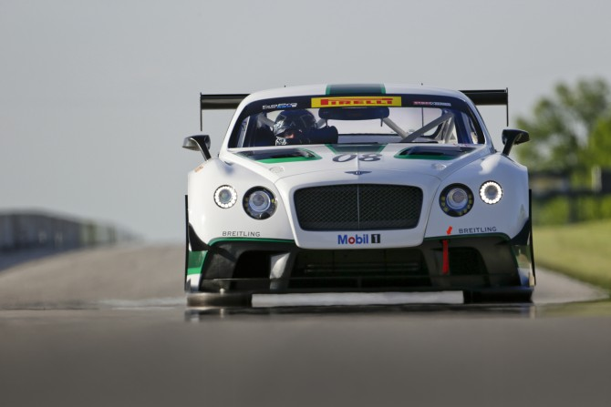 BENTLEY MOTORS RETURNS TO NORTH AMERICAN MOTORSPORT WITH DYSON RACING TEAM BENTLEY
