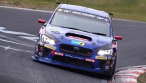 Factory 2015 Subaru WRX STI Prepares to Attack the ADAC 24 Hours of the Nurburgring.