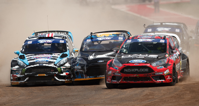 DRIVERS RAVE ABOUT VOLKSWAGEN RALLYCROSS DC TRACK DESIGN