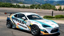 DRIFTING STAR KEN GUSHI TO RACE SCION FR-S AT PIKES PEAK